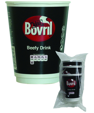 Branded vending - Bovril 12oz cup