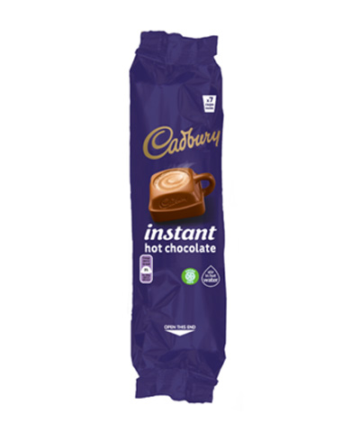 Branded vending - Cadbury Instant Hot Chocolate
