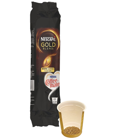 In-cup vending - Nescafé Gold Blend